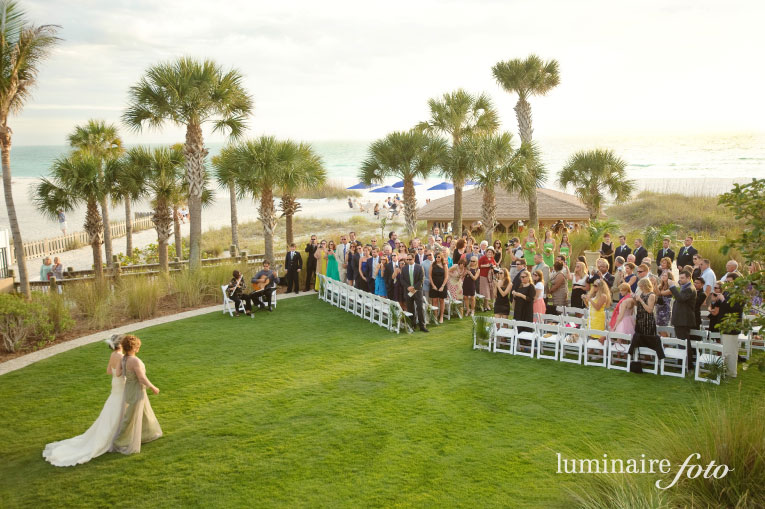 Ritz Sarasota Beach Club Wedding Photography